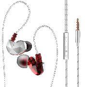Fone de Ouvido Original QKZ CK6 In-Ear HiFi HQ Alta Qualidade