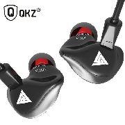 Fone de Ouvido Profissional Dynamic Drive Original QKZ VK3 In-Ear HiFi HQ Alta Qualidade + Case