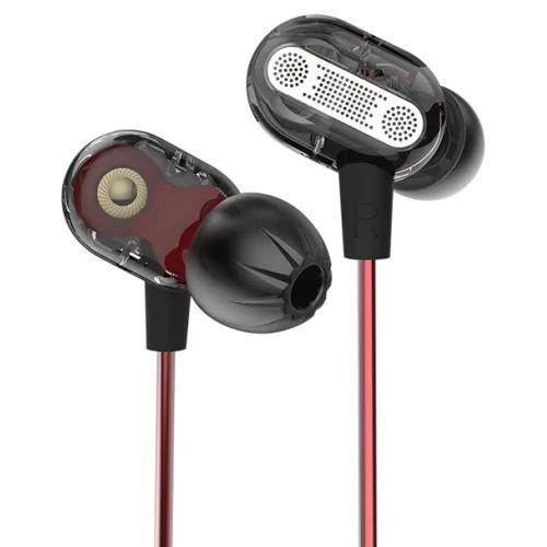 Fone de Ouvido Profissional Dual Driver KZ ZSE Original In-Ear Hi-Fi Alta Qualidade