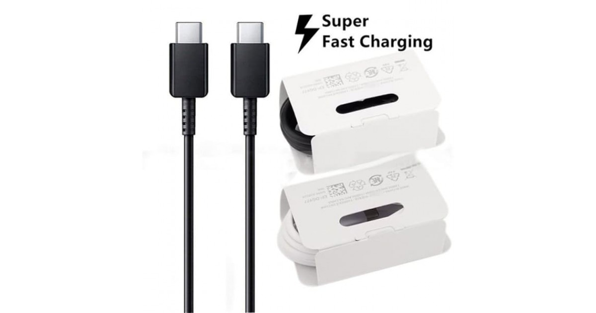 Cabo Original Samsung Tipo-c Para Tipo-c Super Fast Charging