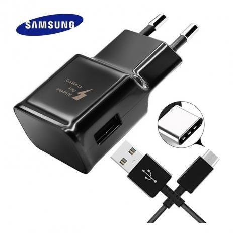 Carregador Fast Charging Original Samsung Com Cabo Usb-C