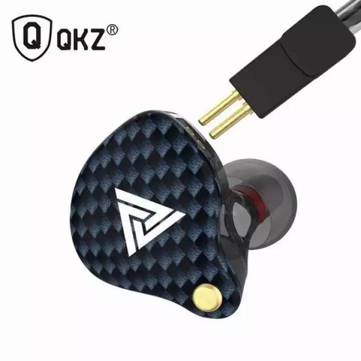 Fone de Ouvido Profissional Dual Drive Original QKZ VK4 In-Ear HiFi HQ Alta Qualidade