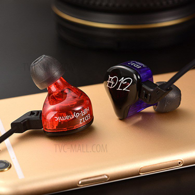 Fone de Ouvido Profissional Original KZ ED12 Cabo Destacável In-Ear HiFi HQ Alta Qualidade para Retorno de Palco ou Celular