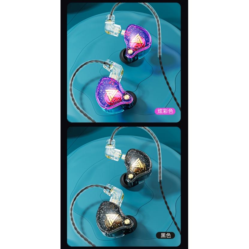 Fone de Ouvido Profissional Original QKZ AK6 PRO Com Cabo Destacável In-Ear Hi-Fi Alta Qualidade