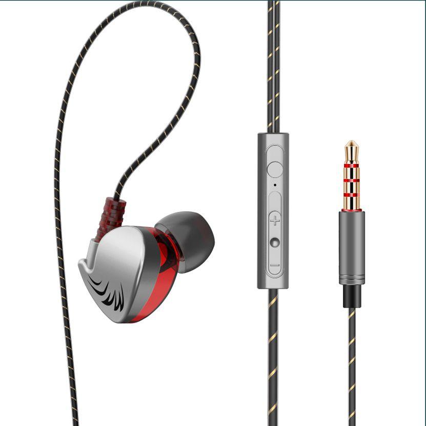 Fone de Ouvido Profissional Original QKZ CK7 In-Ear Hi-Fi Alta Qualidade + Case