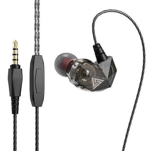 Fone Profissional QKZ AK2 Original Para Monitor e Retorno De Palco Hi-Fi HQ