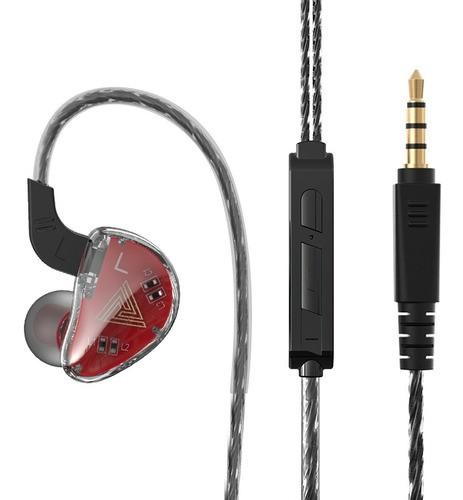 Fone Profissional QKZ AK9 Original Para Monitor e Retorno De Palco Hi-Fi HQ