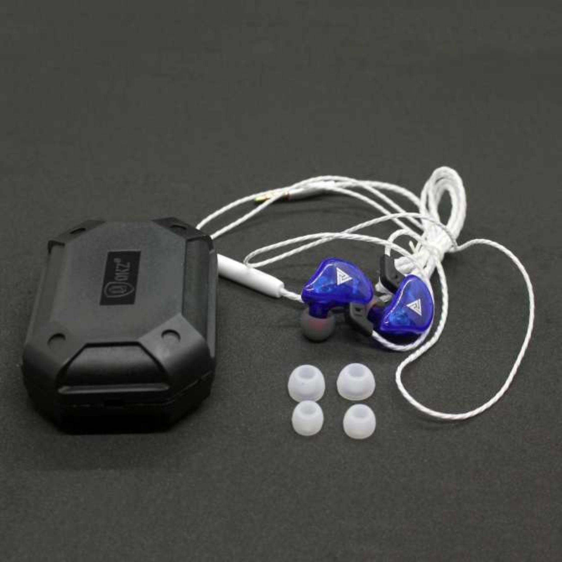 KIT 7 Fones QKZ CK5 Hi-Fi Com Case Original QKZ