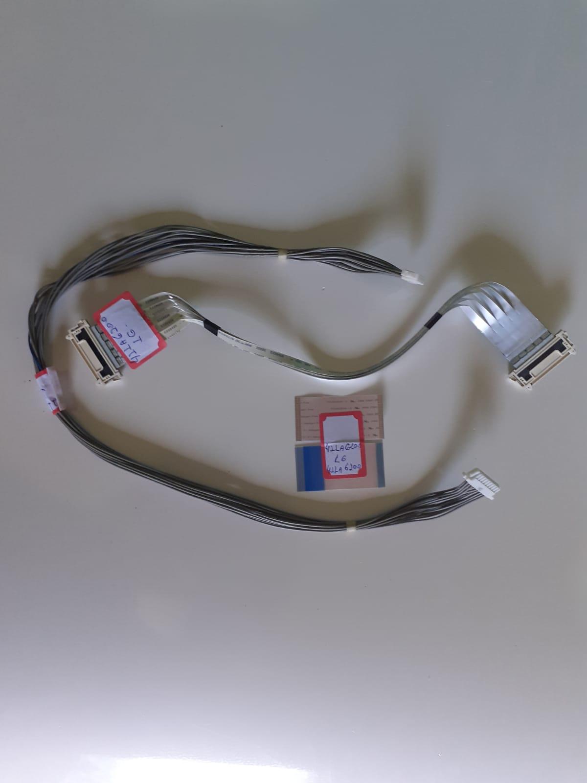 Kit Cabo flat para TV LG 42LA6200