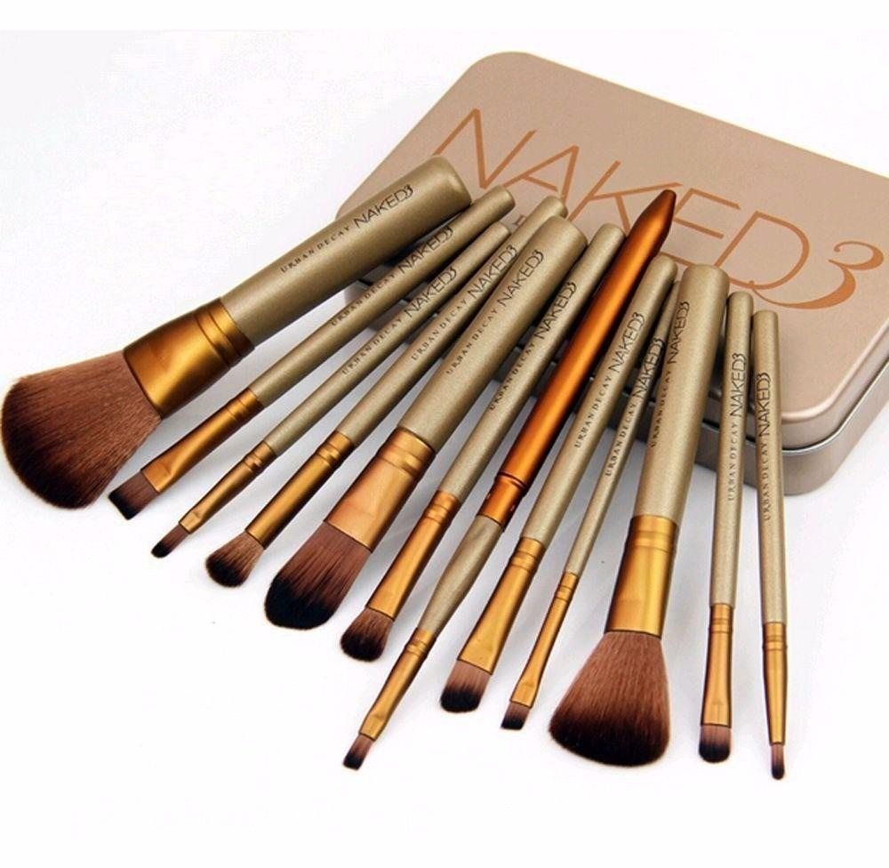 Pincéis para Maquiagem Naked3