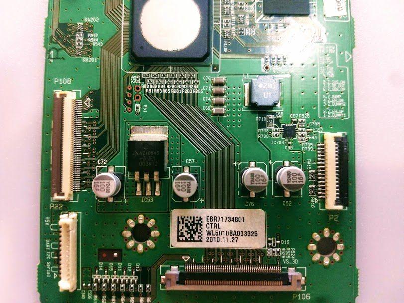 Placa Controladora Tv Plasma Lg 50pt250b 50pw350b