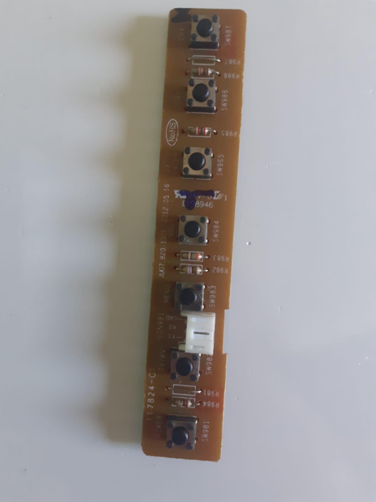 Placa Controle Botões TVPH28C20 para TV Philco
