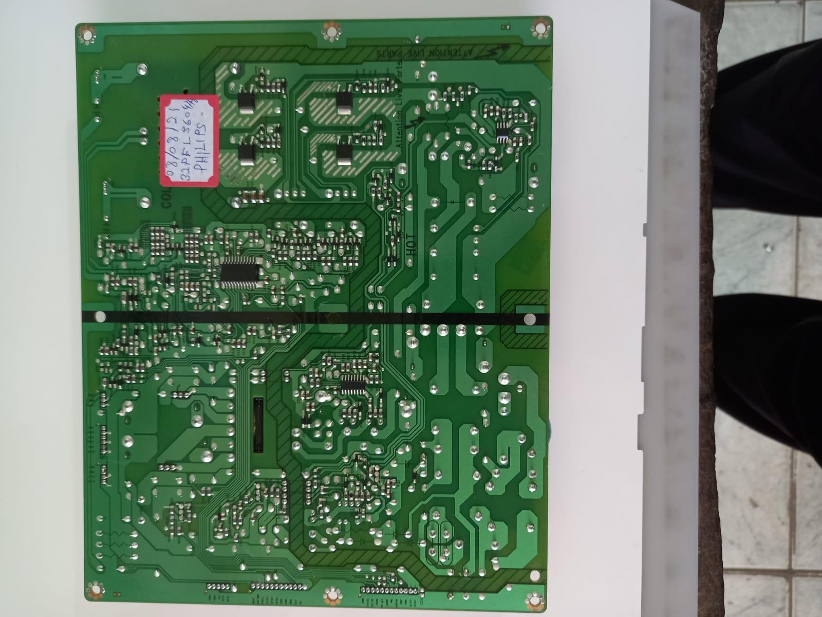 Placa Fonte 3PAGC10003A-R para TV Philips 32PFL5604/78