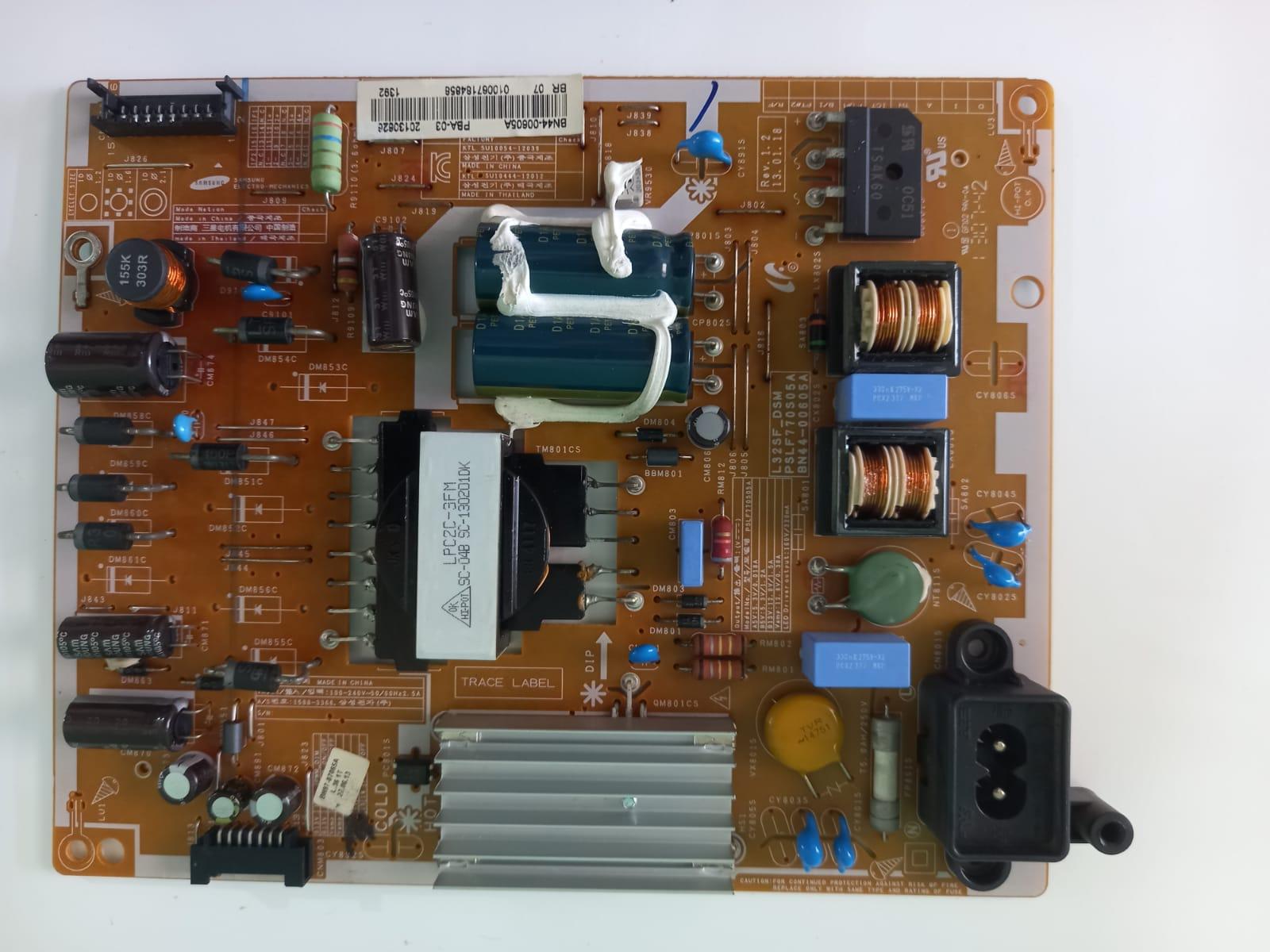 Placa fonte BN44-00605A p/ TV Samsung UN32F5200AG