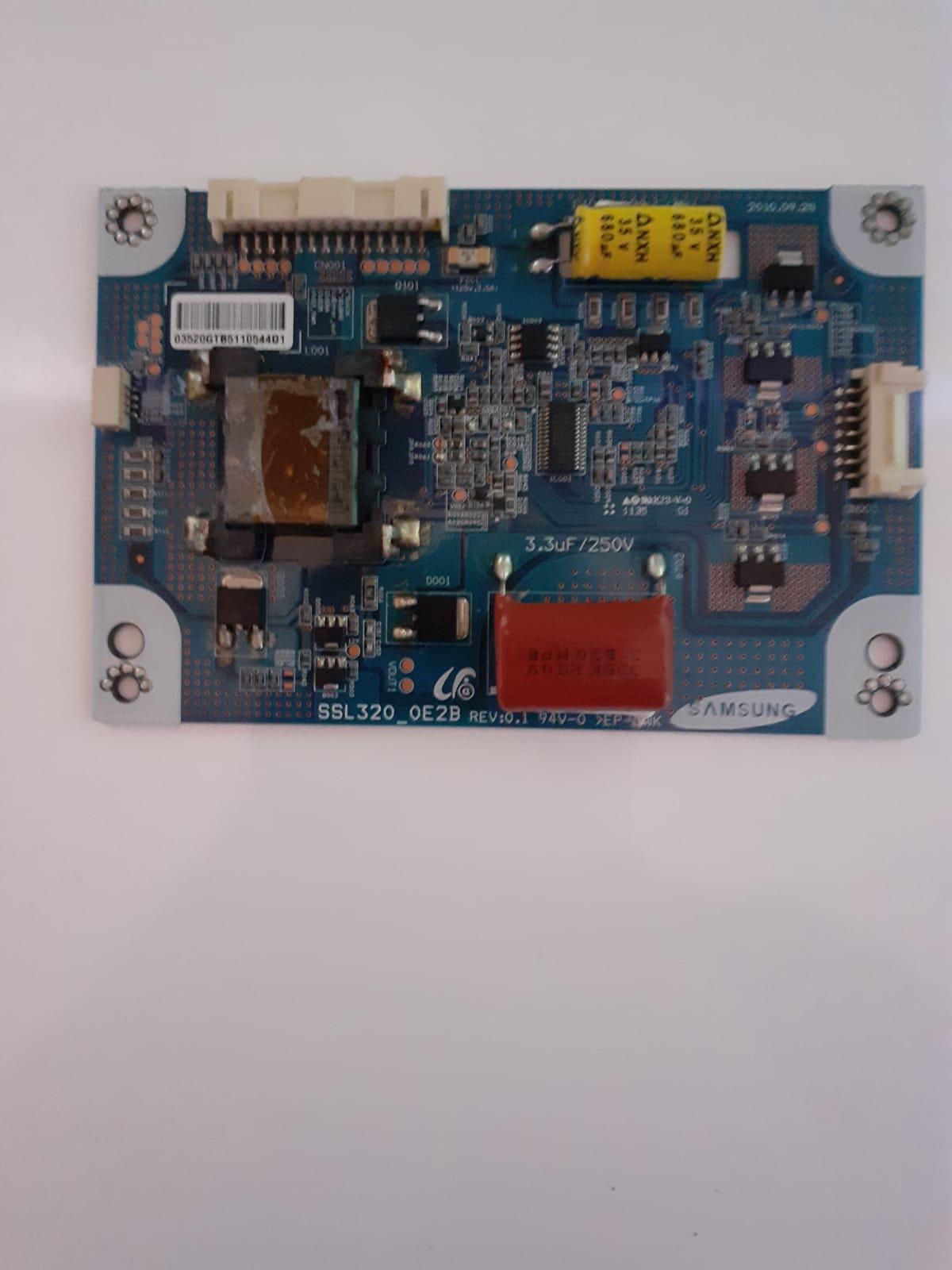 Placa Inverter SSL320 0E2B para TV Semp Toshiba LE3250WDA