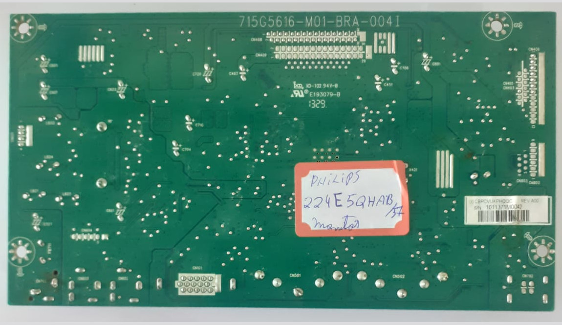 Placa Principal 715G5616M01BRA004I para monitor Philips 224E5QHAB/57