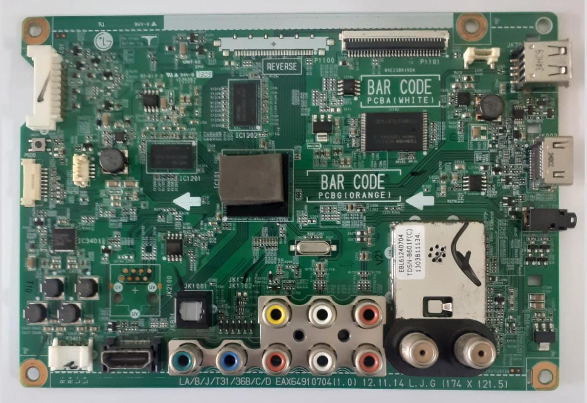 Placa Principal EAX64910704(1.0) para TV LG 32LA613B