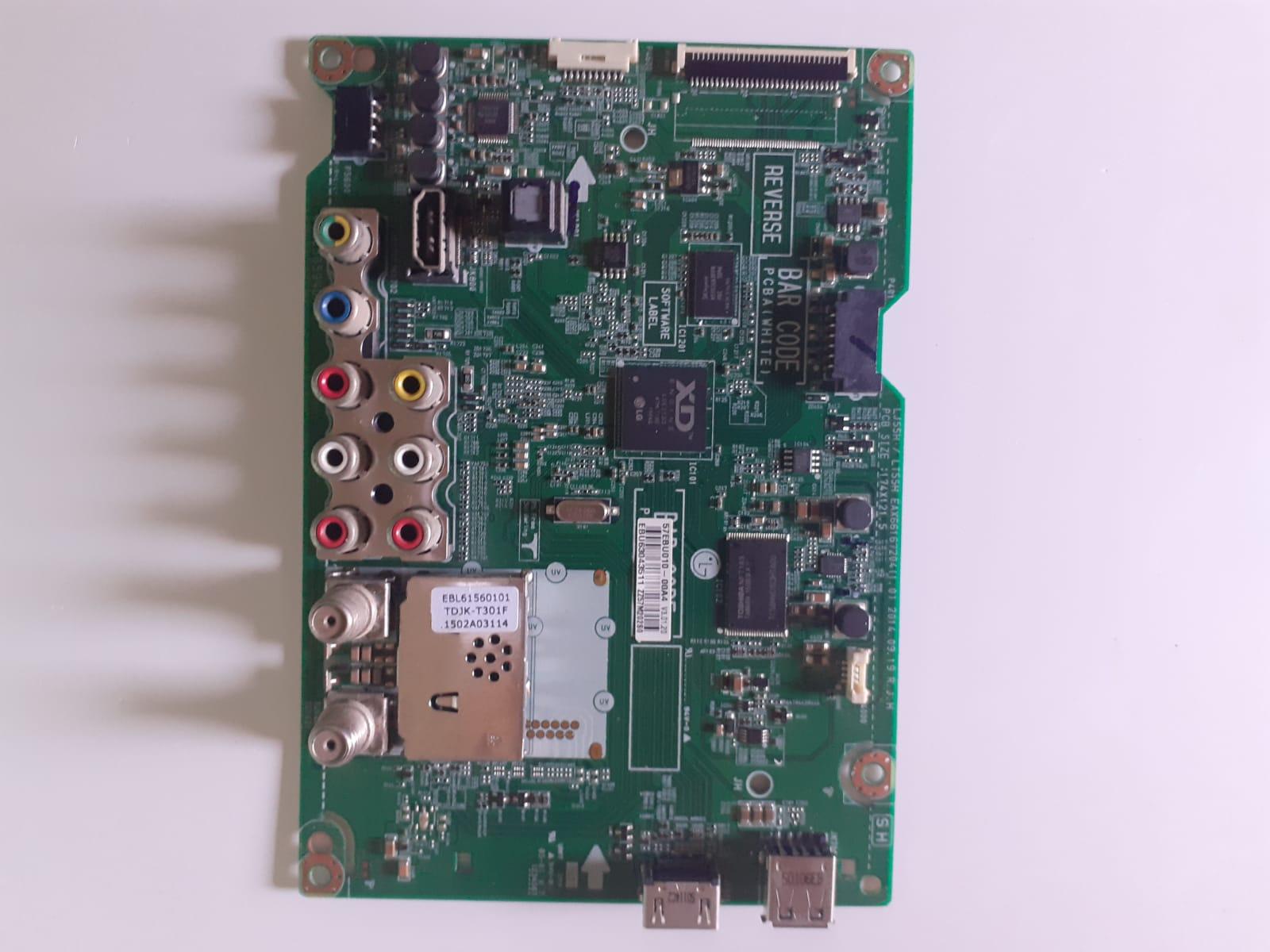 Placa Principal EAX66167204(1.0) para TV LG 32FL550B, 43FL5400 e 43FL5410