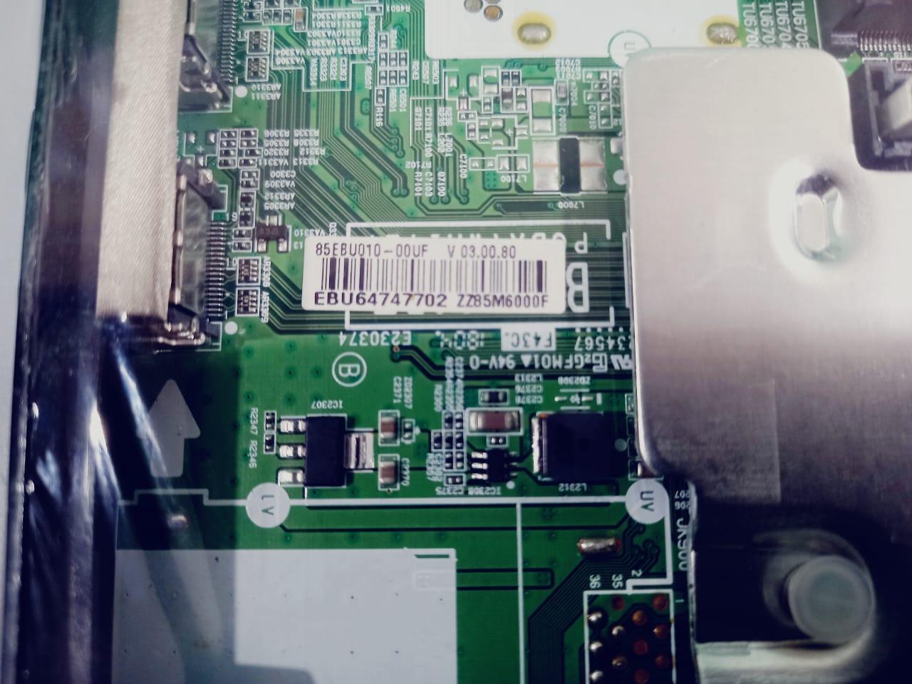 Placa Principal LG 60uj6585 65uj6585 60uj6545 65uj6545 75uj6585 Ebt64474208 Ebu63983436 EAX671887104 (1.0)