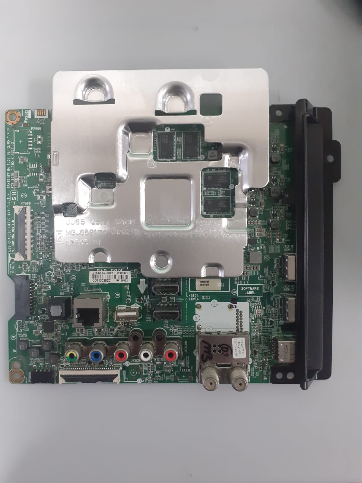 Placa Principal TV LG UJ65MGJ652174 01/02 - EAX67187104(1.0)