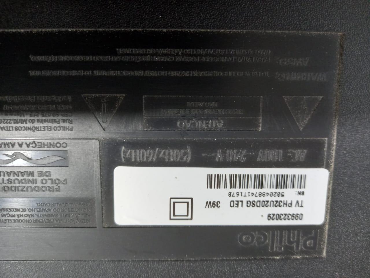 Placa Principal TV PH32UDSG LED