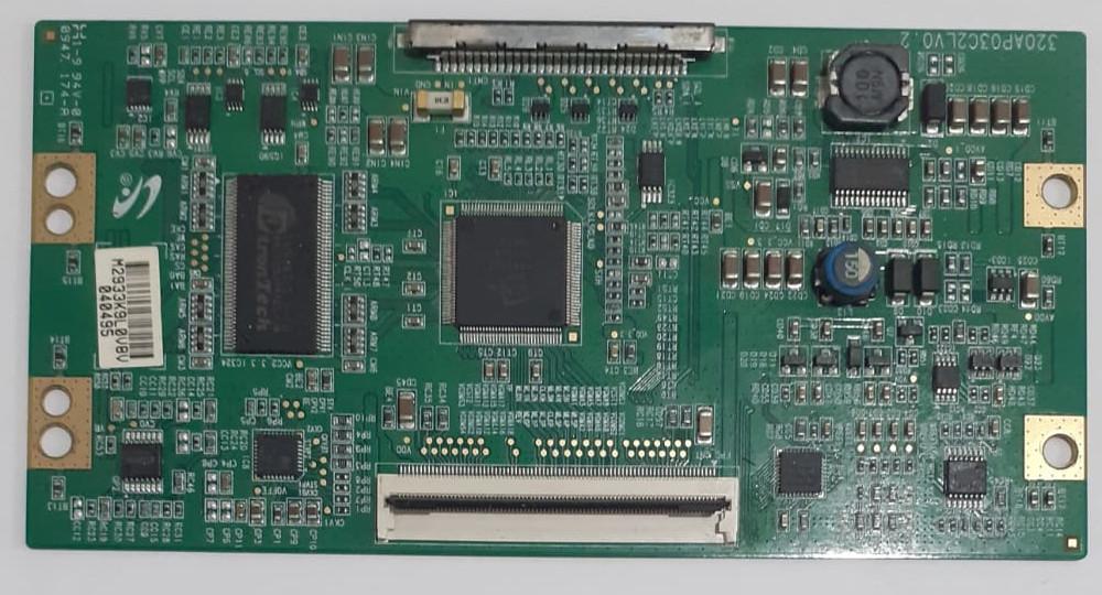Placa T-Con 320aP03C2LV0.2 para TV Samsung LN32B35F1