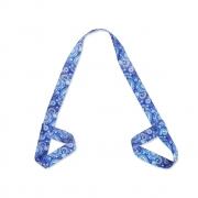 Alça Porta Tapete Estampado - Yoga Mat Strap - Azul Mandala