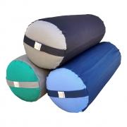 Bolster Cilíndrico - Almofadão - Yoga Iyengar e Restaurativa - Duas Cores