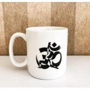Caneca De Porcelana - Yoga - Om e Guerreiro I + Namastê
