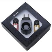Kit Presente Aromatizador Elétrico Standard Black com Essências - Flor de Cerejeira e Vanilla - Via Aroma
