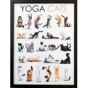 Quadro - Yoga Cats - 30x40cm