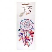 Tapete de Yoga Aveludado com Borracha Natural 183x68cm - Apanhador de Sonhos