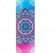 Tapete de Yoga Estampado Aveludado - Mandala Candy