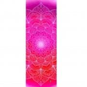 Tapete de Yoga Estampado Aveludado - Mandala Love