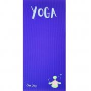 Tapete de Yoga Infantil PVC Estampado Kids - Fred, A Tartaruga