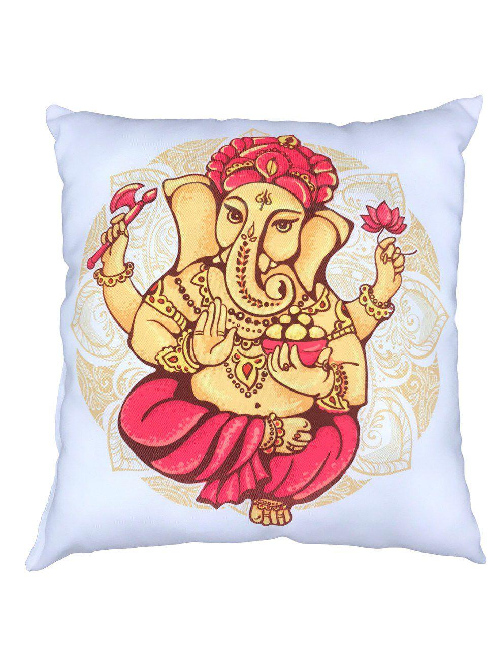 Almofada - Yoga - Ganesha - 35 x 35 cm