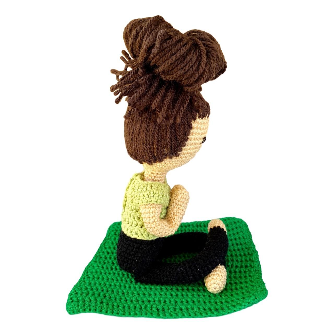 Amigurumi - Crochê - Yogini - Yoga
