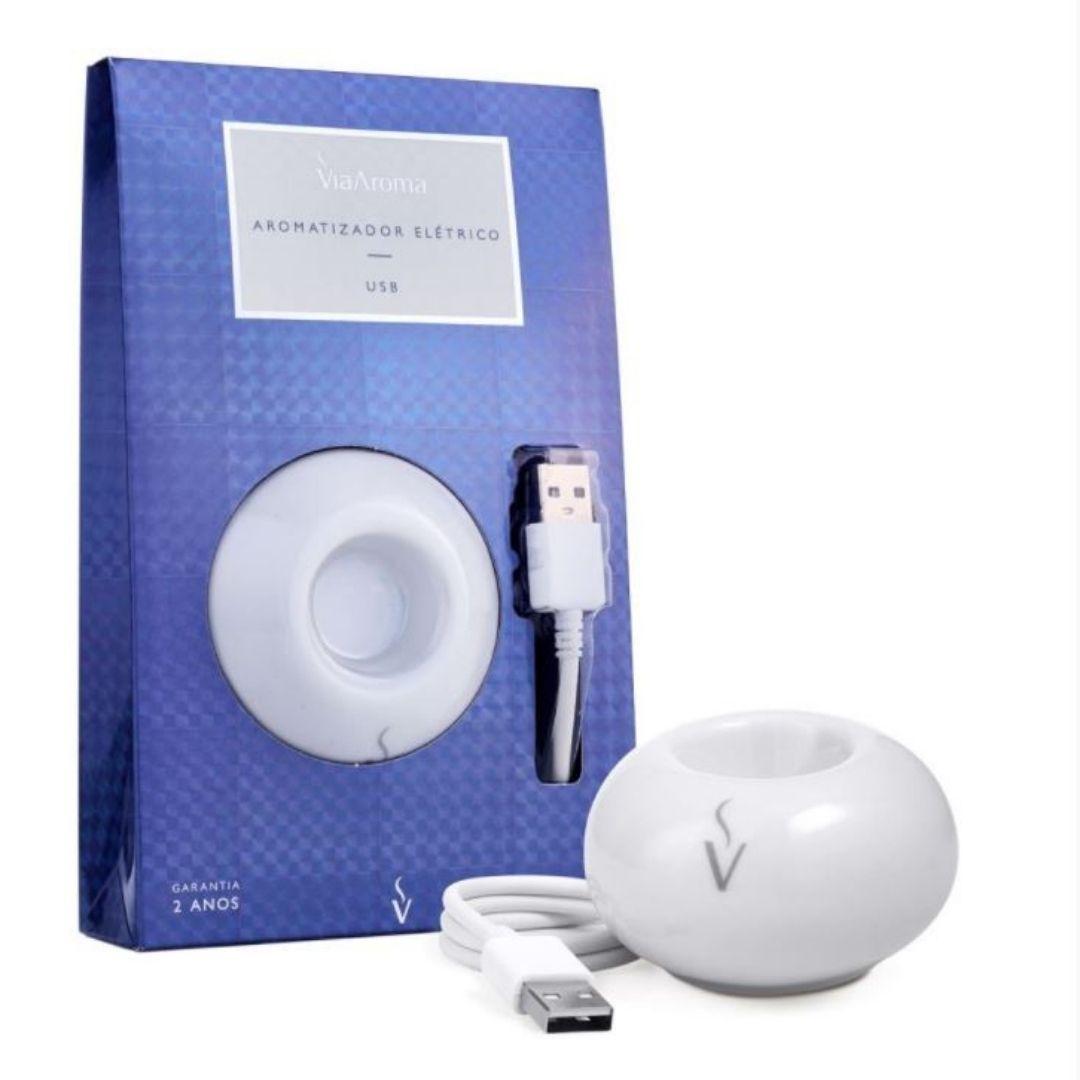 Aromatizador Elétrico USB - Via Aroma