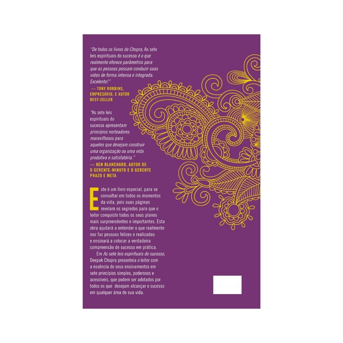 As Sete Leis Espirituais do Sucesso - Um Guia Prático para Realização de Seus Sonhos - Deepak Chopra