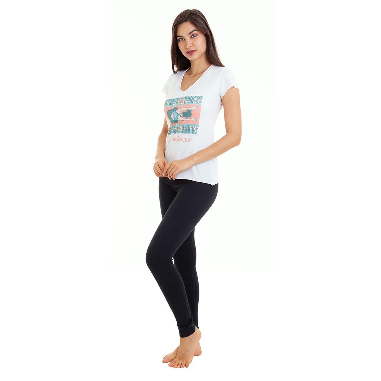 Baby Look - Branca - Ahimsa