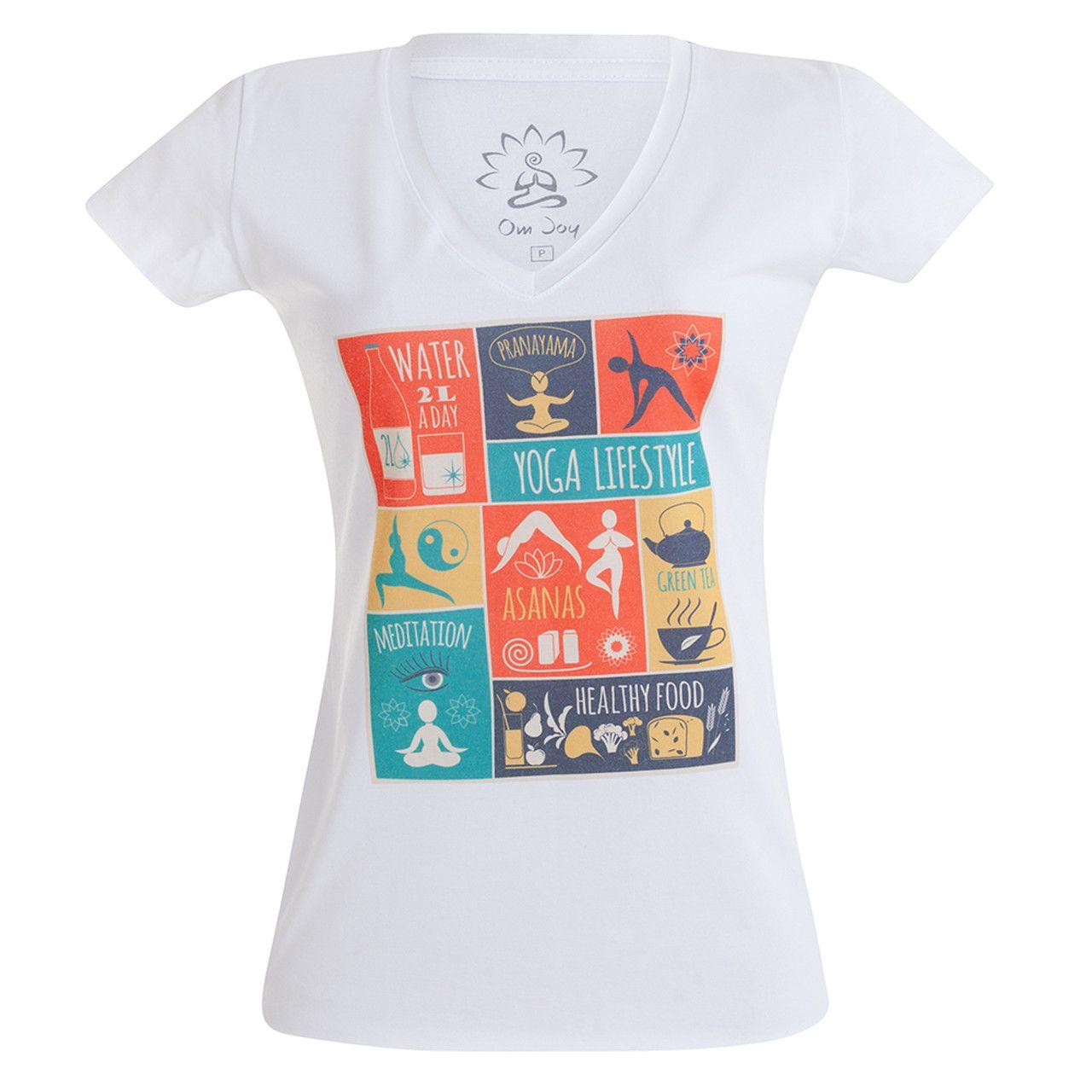 Baby Look - Branca - Yoga Life