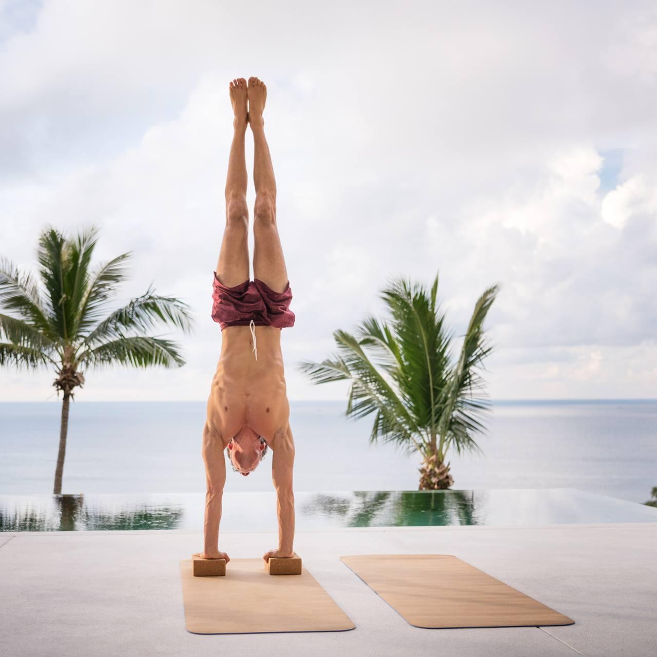 Bloco de Yoga e Pilates - Cortiça Natural - Sustentável e Ecológico