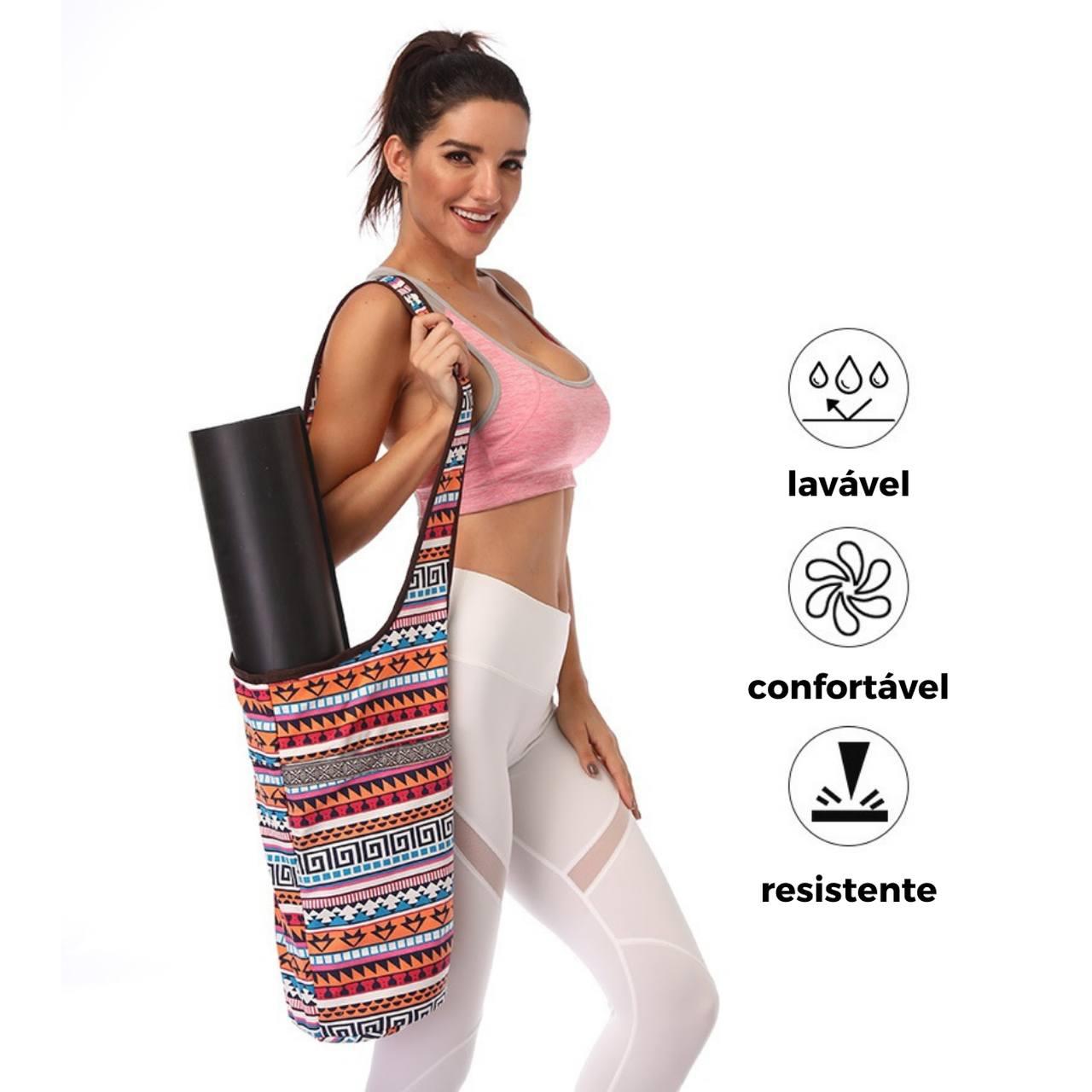 Bolsa de Ombro Porta Tapete Yoga - Inca