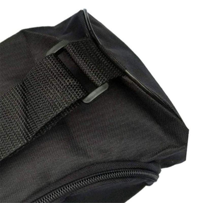 Bolsa Porta Tapete Mat Preta Impermeável 72x13cm