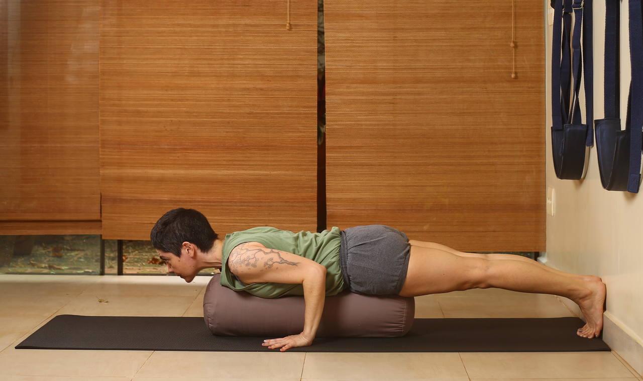 Bolster Cilíndrico Grande - Yoga