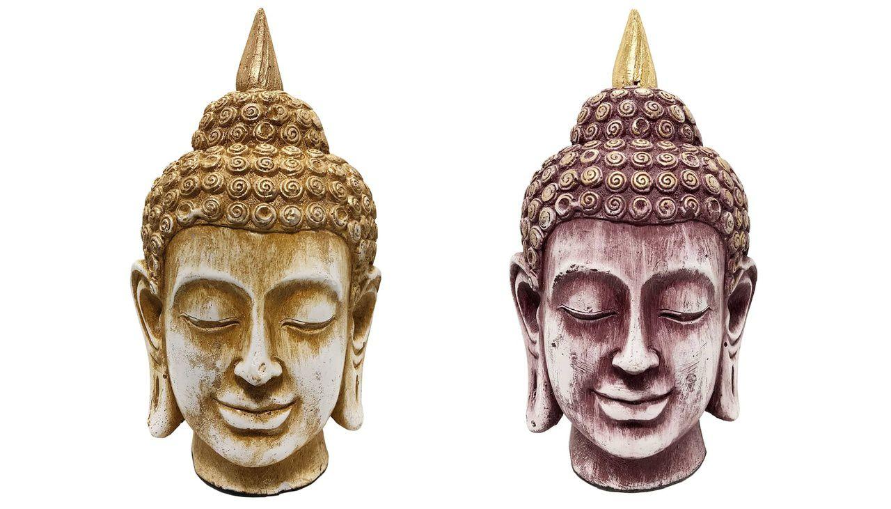 Cabeça de Buda - Gesso