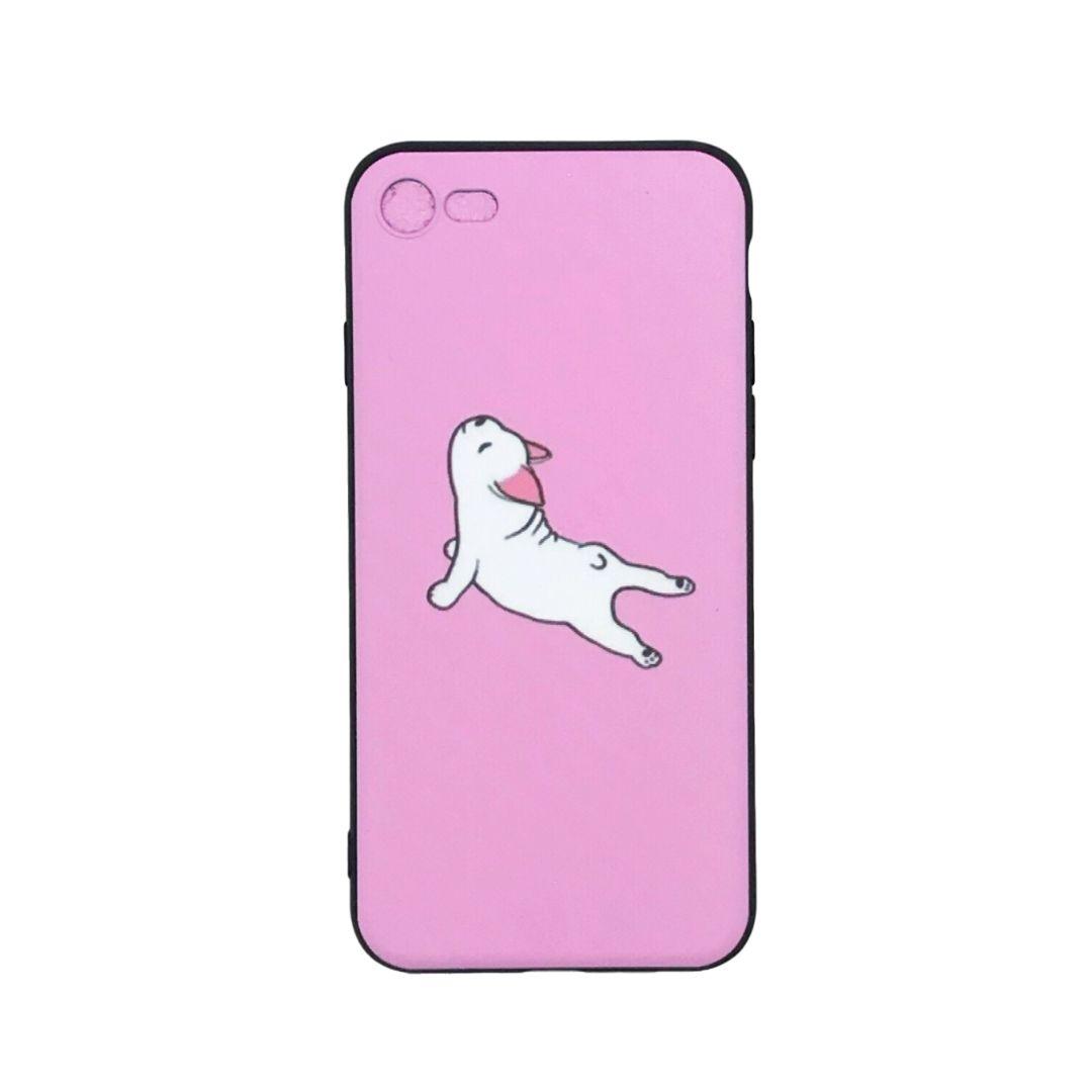 Capa Celular - Iphone 6/7/8 - Cachorro - Urdvha Mukha Svanasana