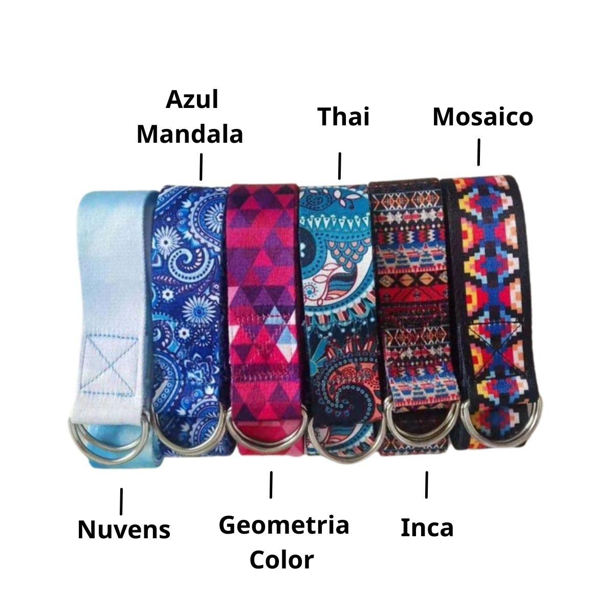 Cinto de Alongamento Estampado - Inca
