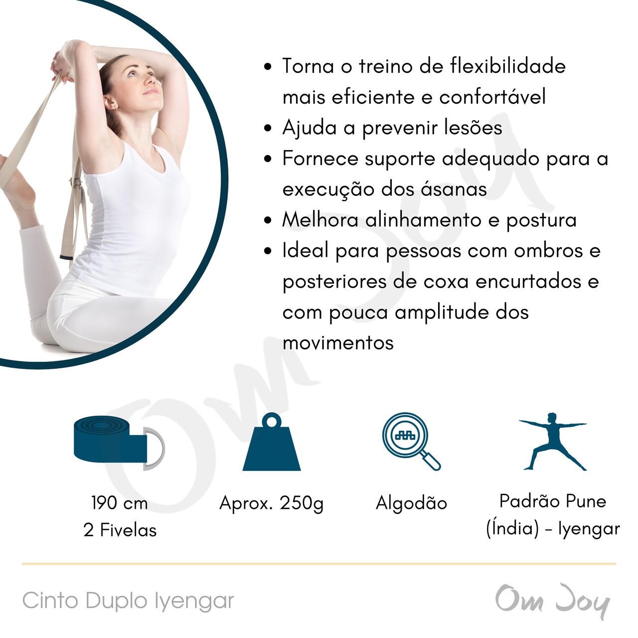 Cinto Duplo Iyengar Yoga