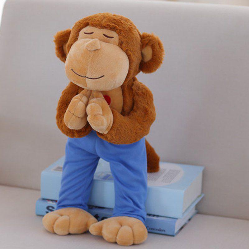 Yoga Bear - Bicho de Pelúcia Yogui - Macaco